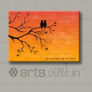 artsville-online-painting-birds-at-sunset-orange-p00001c