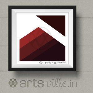 artsville-online-modern-art-maroon-stripes-p00006c