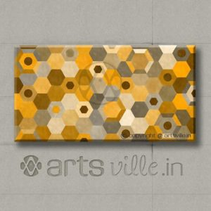 artsville-online-painting-hexagonal-pattern-occur-yellow-p00002c