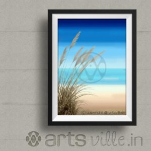 Paintings-online-india-artsville-deserted-beach-P000020PA432