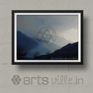 Paintings-online-india-artsville-shades-of-mountains-P000017PA432
