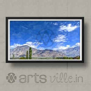 online-paintings-in-india-artsville-modern-art-deserted-mountains-P000018PA432
