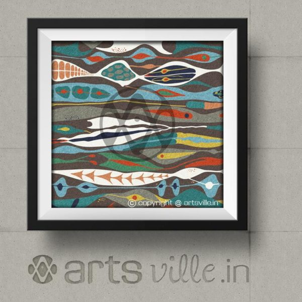 Abstract-paintings-Online-india-artsville-P000029P