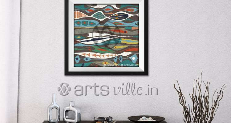 Buy-paintings-online-india-abstract-art-artsville.in-1