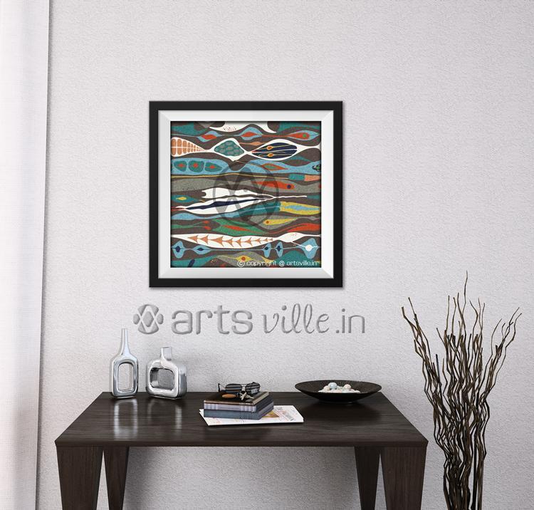 Buy-paintings-online-india-abstract-art-artsville.in-1