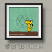 Online-art-for- kids-Cute-Kitty-painting-P038PS