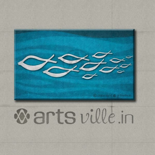 Schooloing-Fish-artsville.in-abstract-online-art-india-P042CL